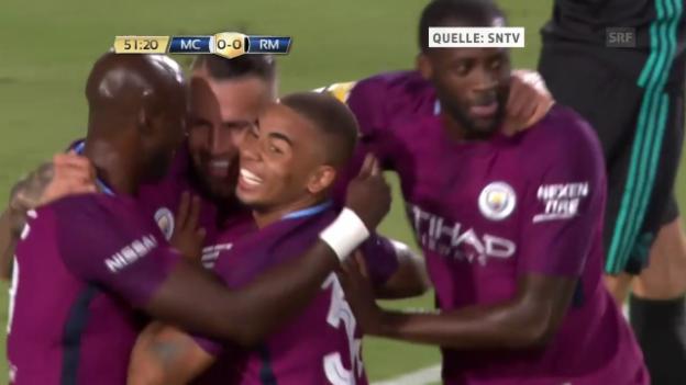 Video «ICC: Die Tore bei Manchester City - Real Madrid» abspielen