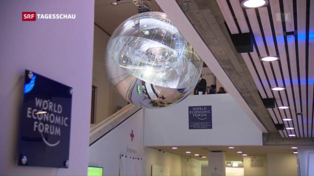 Video «WEF thematisiert Kehrseite der Globalisierung» abspielen