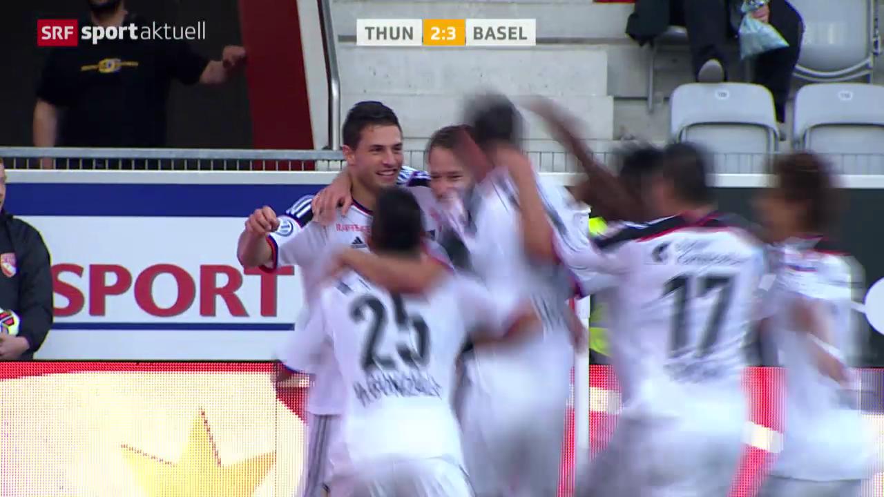 Fussball: Thun - Basel