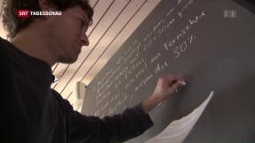 Video «Gesuchte Schweizer Lehrpersonen» abspielen