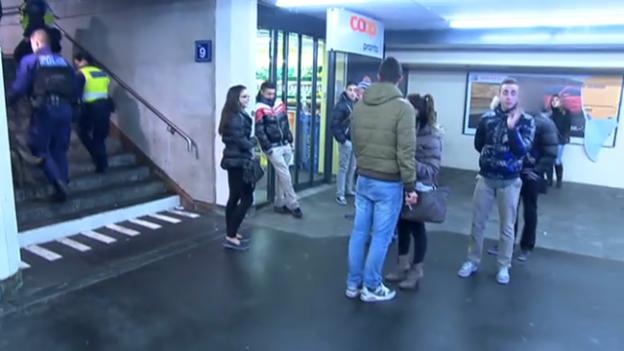 Video «Tatort Bahn – Gewalt in den Zügen» abspielen