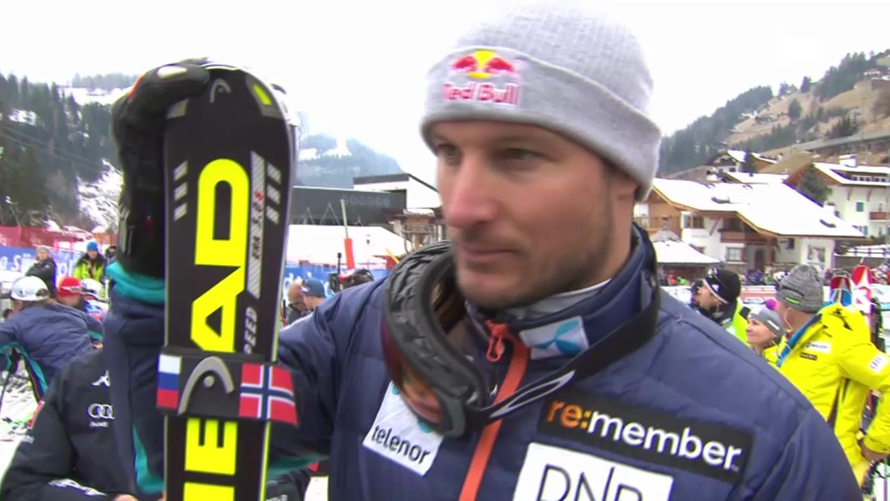Interview mit Aksel Svindal («sportlive», 20.12.13)