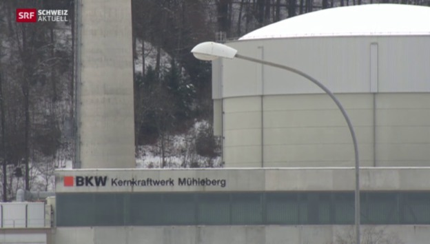 Video «AKW Mühleberg erfüllt die Auflagen für den Betrieb bis 2019» abspielen