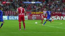 Video «Fussball: CL, Olympiakos - Juventus» abspielen