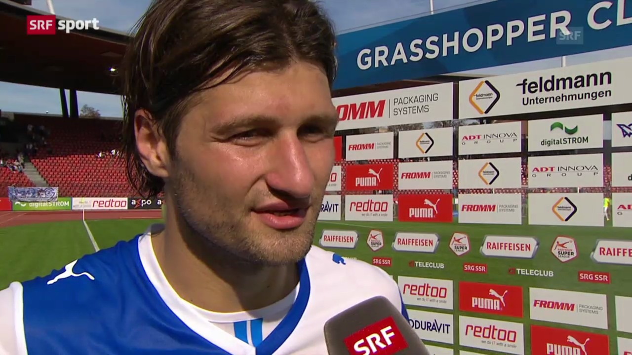 Fussball: Stimmen zu GC - Thun («sportpanorama»)