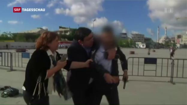 Video «Attentat auf kritischen Journalisten in Istanbul» abspielen