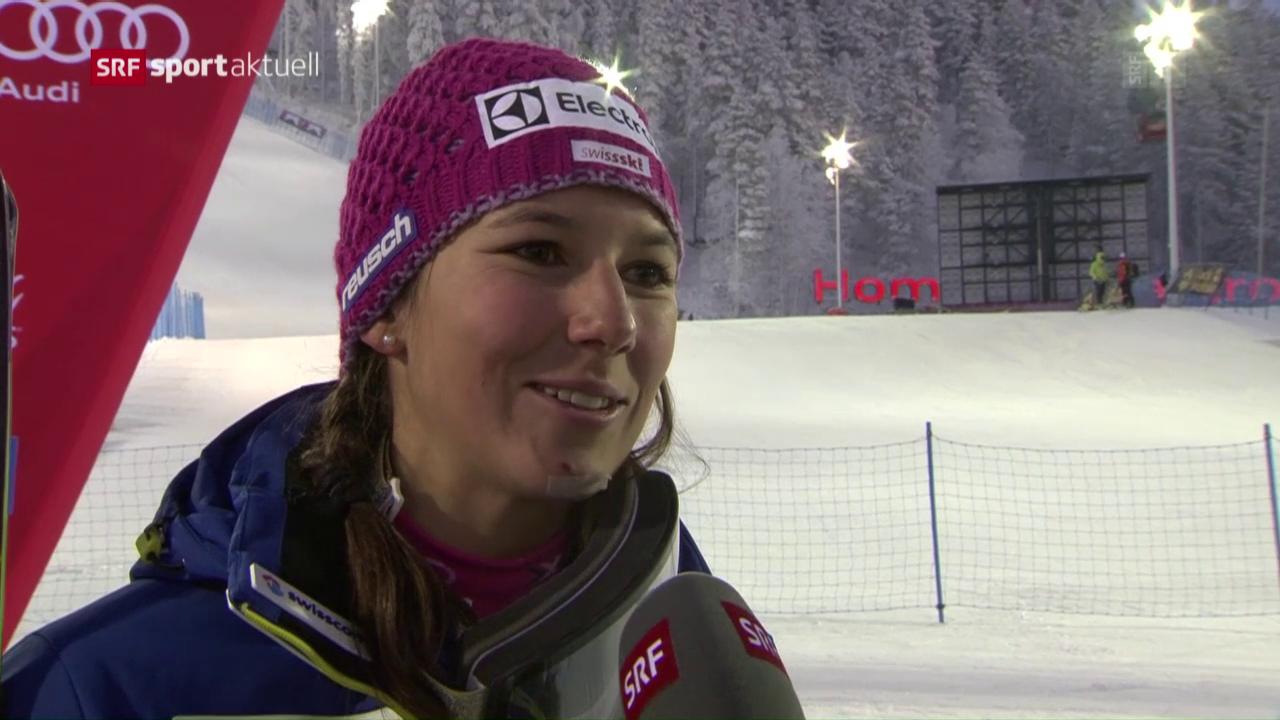Holdener und Meillard glänzen im Levi-Slalom