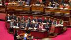 Video «Streit Italien – EU» abspielen