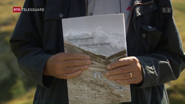 Laschar ir video «In cudesch davart la via dal Pass dal Spleia»