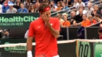 Video «Davis-Cup-Playoffs: Niederlande - Schweiz» abspielen