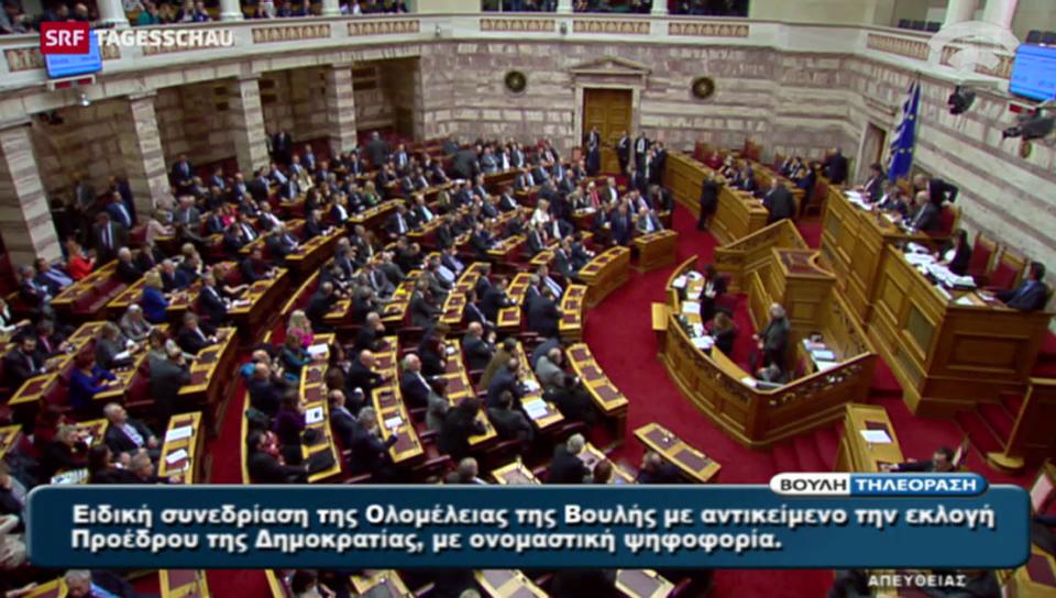 Wahl eines neuen griechischen Präsidenten