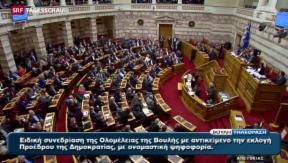 Video «Wahl eines neuen griechischen Präsidenten» abspielen