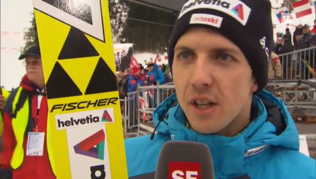 Skispringen: Interview Simon Ammann