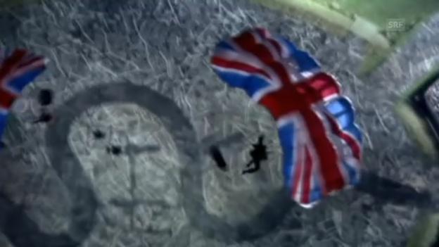 Video «Der Sprung an der Olympiade machte ihn berühmt (unkomm.)» abspielen