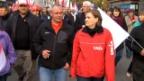Video «Kampf für bessere Arbeitsbedingungen» abspielen
