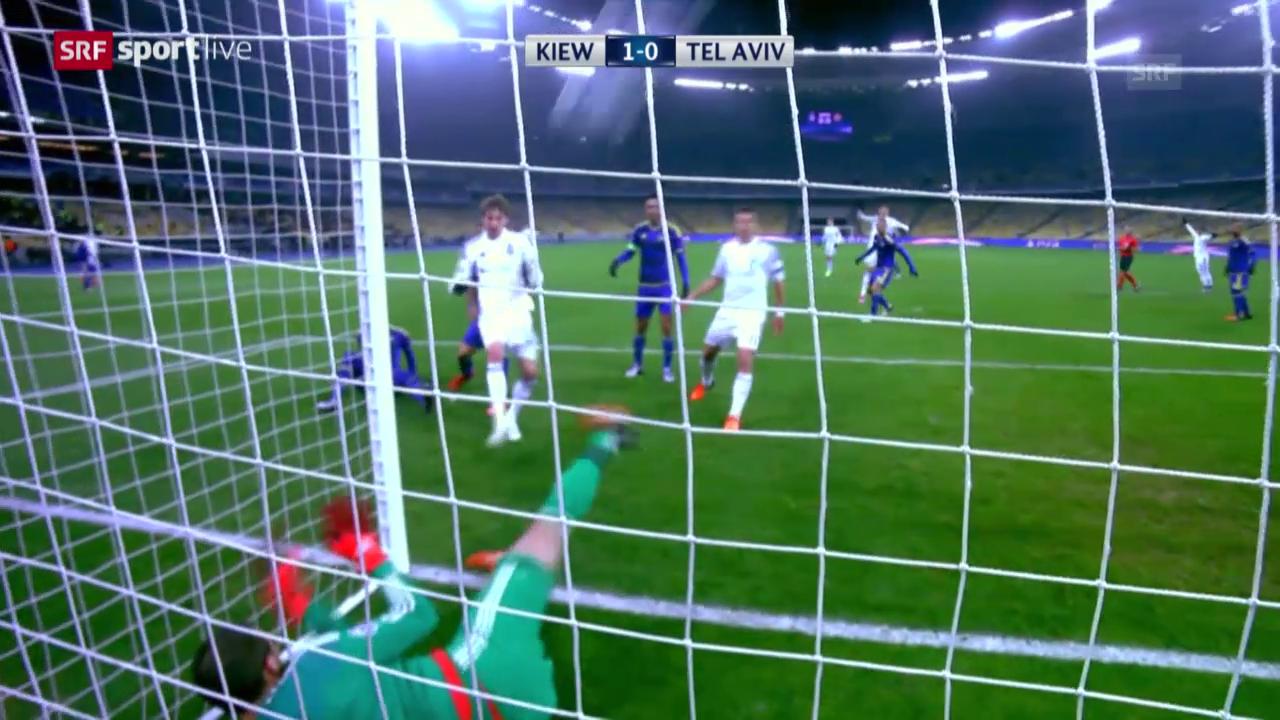 Fussball: CL, Matchbericht Kiew-Maccabi