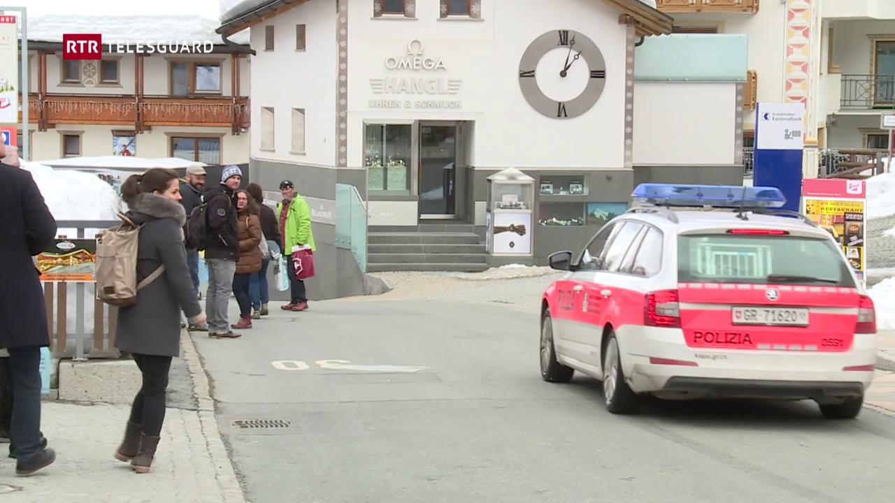 Polizia ha arrestà quatter persunas a Samignun