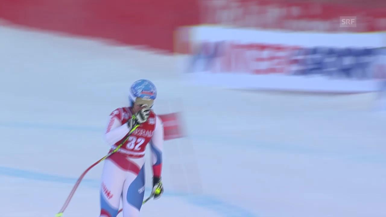 Ski alpin: Weltcup in Val d'Isère, Super-G, Corinne Suter