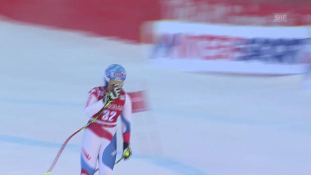 Video «Ski alpin: Weltcup in Val d'Isère, Super-G, Corinne Suter» abspielen