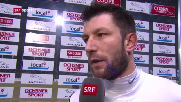 Video «Cup: Stimmen Aarau» abspielen
