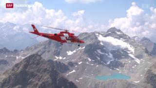 Video «Rega testet Schlecht-Wetter-Flüge» abspielen