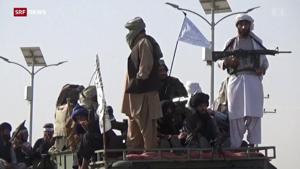 Aus dem Archiv: Feuer im Dach bei den Taliban