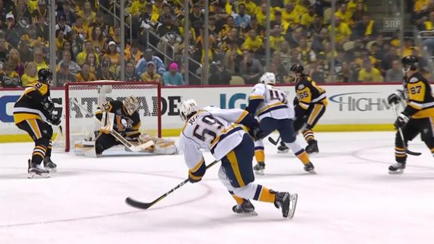 Video «2. Sieg für Pittsburgh im Stanley-Cup-Final» abspielen