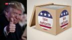 Video «FOKUS: Trumps Steuergeschenk» abspielen