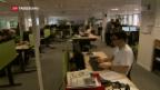 Video «SDA-Redaktion arbeitet wieder» abspielen