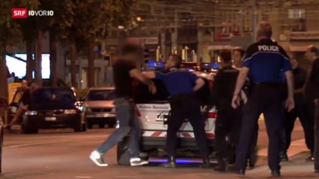 Video «Polizei fordert strengeres Alkoholgesetz» abspielen