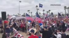 Video «Prügel bei Trump-Rally» abspielen