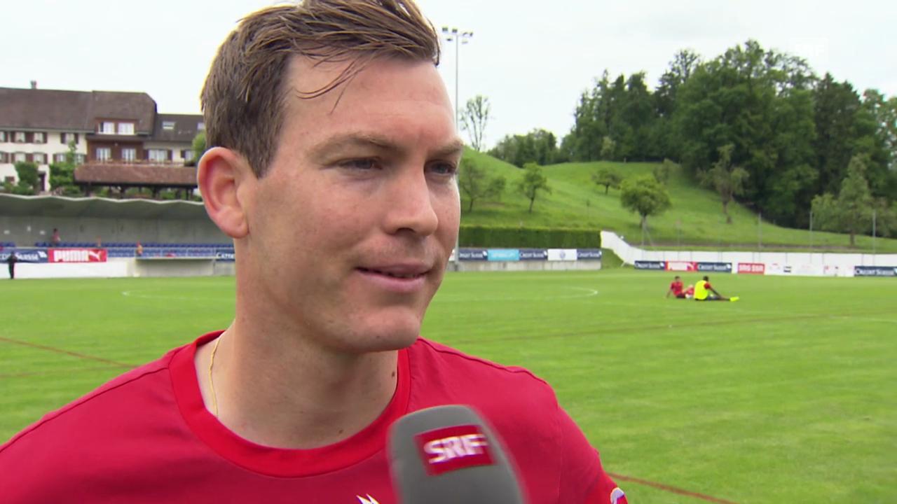 Fussball, Nati-Camp: Interview mit Stephan Lichtsteiner