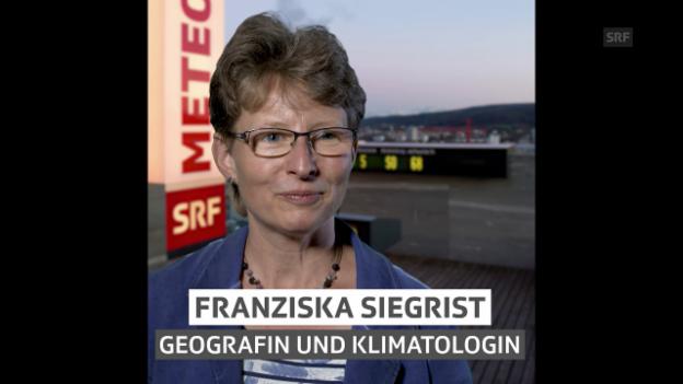 Video «Franziska Siegrist, für «Hallo SRF!» bei Meteo» abspielen