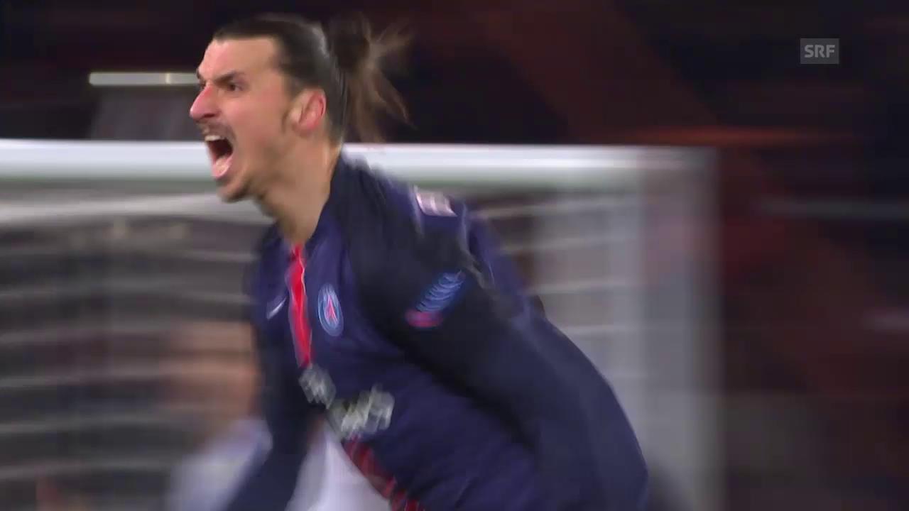 Die besten Szenen von Zlatan Ibrahimovic im Spiel gegen Chelsea