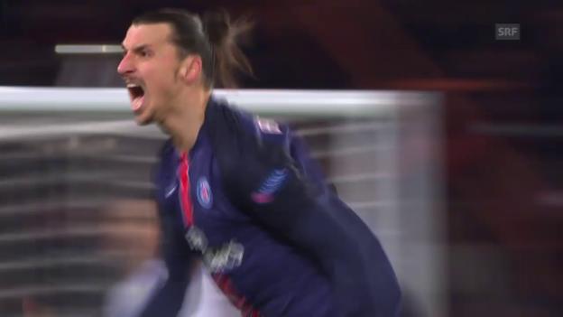 Video «Die besten Szenen von Zlatan Ibrahimovic im Spiel gegen Chelsea» abspielen