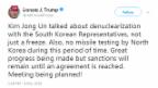 Video «Treffen zwischen Trump und Kim geplant» abspielen