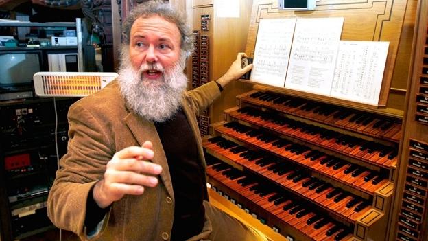 Hörprobe: Wolfgang Sieber spielt auf der Hoforgel den «Schäfli-Schottisch»