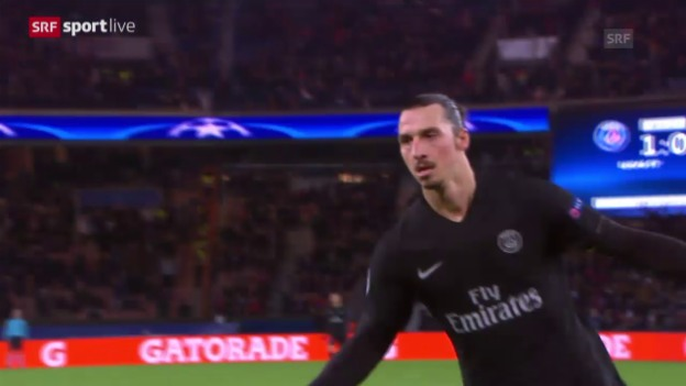 Video «Fussball: Champions League 2015/16, 6. Runde, PSG - Donezk» abspielen