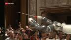 Video «Ein Roboter dirigiert die Oper» abspielen
