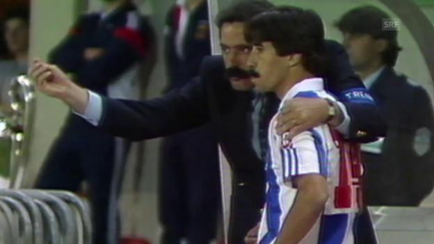 Video «Fussball: Meistercup, Final 1987, Bayern München – FC Porto» abspielen