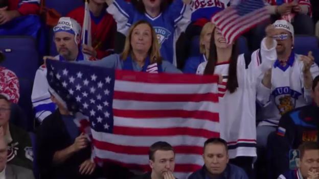 Video «Zusammenfassung Russland - USA» abspielen