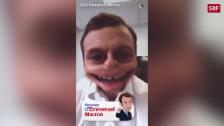 Link öffnet eine Lightbox. Video Wahlkampf auf Snapchat abspielen