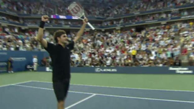 Video «Tennis: US-Open-Final 2007, Federer - Djokovic» abspielen