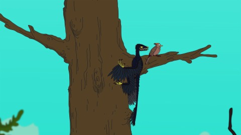 Ralph und die Dinosaurier: Microraptor (13/26)