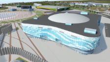 Video «OS Sotschi: Iceberg Eislaufpalast» abspielen