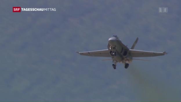 Video «Luftwaffe baut Luftüberwachung aus» abspielen