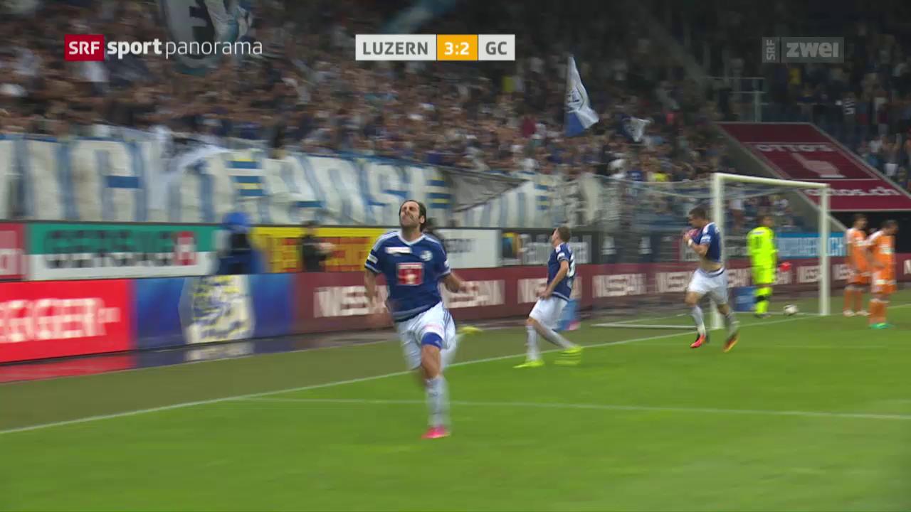 Luzern setzt sich gegen GC durch