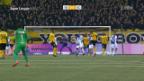 Video «YB baut Tabellenführung mit Sieg gegen GC aus» abspielen