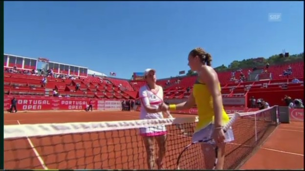 Video «Tennis: WTA Estoril, Oprandi-Pawljutschenkowa» abspielen