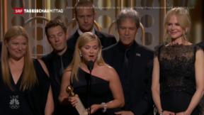 Video «Golden Globes im Zeichen von #MeToo» abspielen